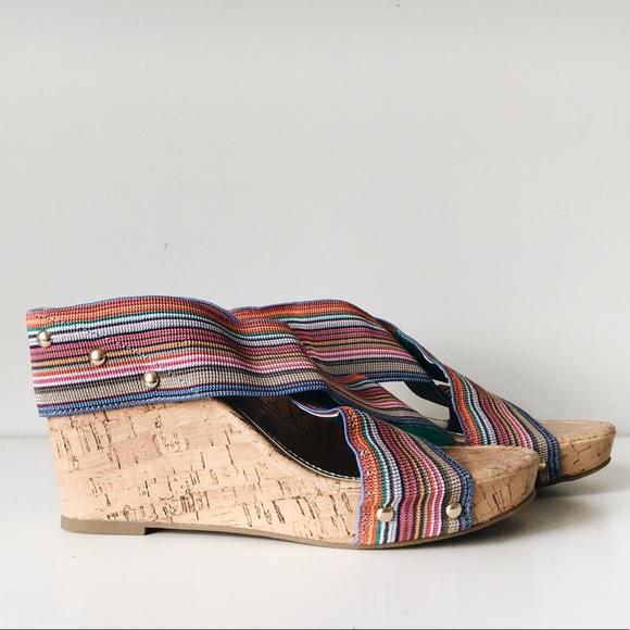 67054b1990eb Madden Girl Shoes - Madden Girl Nautical Wedge Sandal